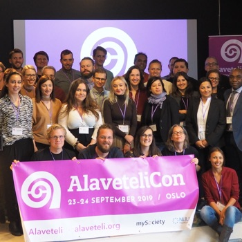 AlaveteliCon group photo